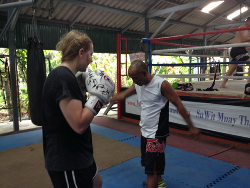 Muay Thai classes at camp in Thailand can be useful and fun