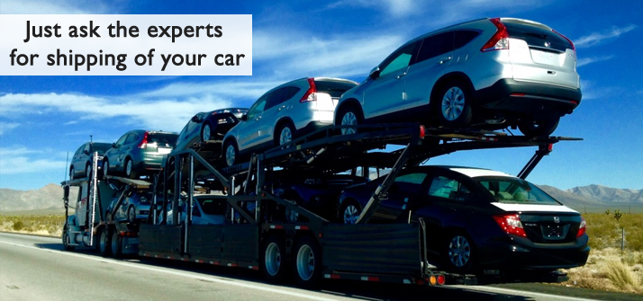 Just Ask The Experts For Shipping Of Your Car
